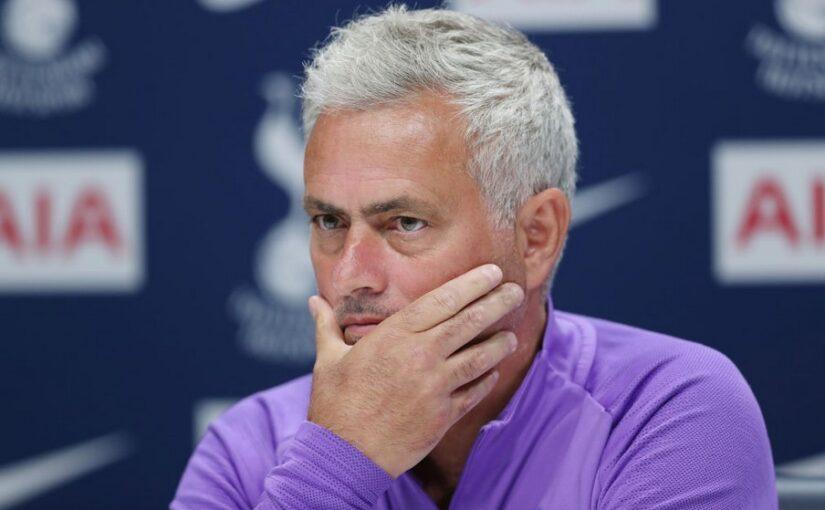 Penggemar Tottenham Tidak Percaya Apa Yang Telah Dilakukan Jose Mourinho vs Man City